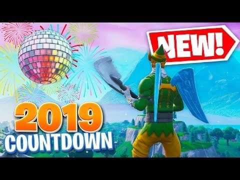 Fortnite Videos: Fortnite NEW YEARS SPECIAL EVENT COUNTDOWN