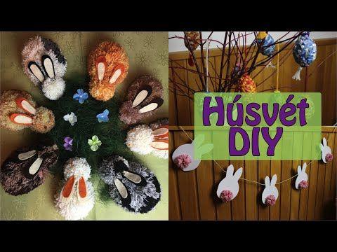 DIY Húsvéti Dekorációk I Viszkok Fruzsi - YouTube