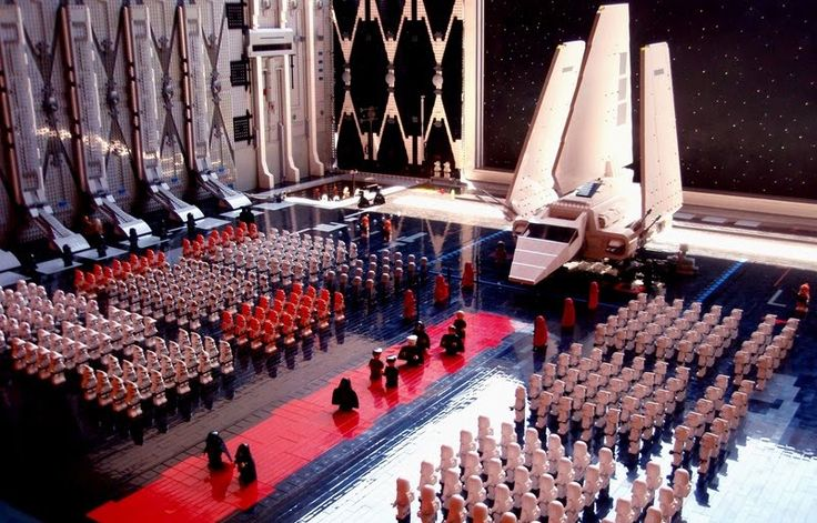 Imperial Inspection  Terrible maqueta !! :D     #lego #starwars
