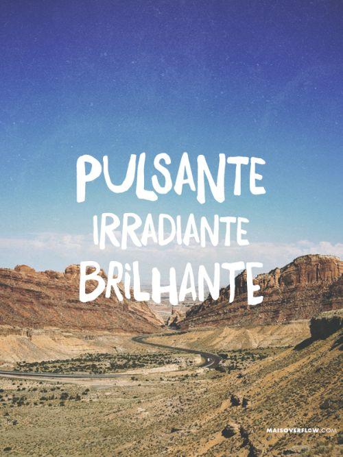 """""""Pulsante, irradiante, brilhante! Você é tão lindo!"""" Palankin twitter: https://twitter.com/maisoverflow facebook: https://www.facebook.com/maisoverflow instagram: http://instagram.com/maisoverflow X"""