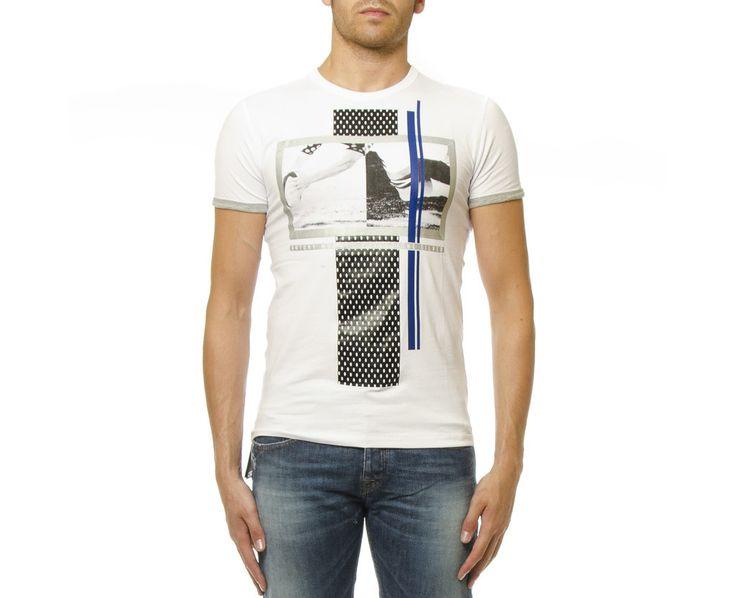 Camiseta Dibujo Rugby Delantero, Antony Morato - Mi and Mall #MIMALLSHOP