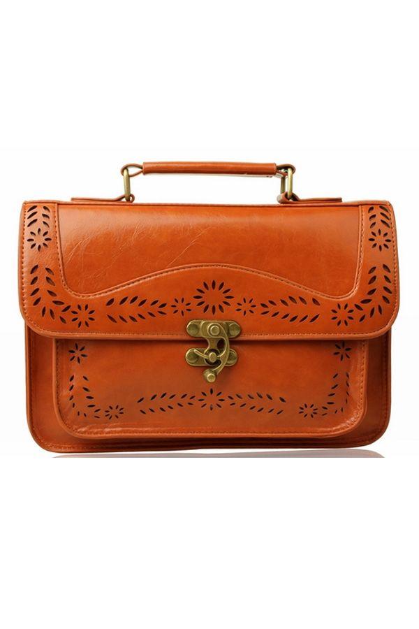 Vintage Cutout Shoulder Bag - OASAP.com
