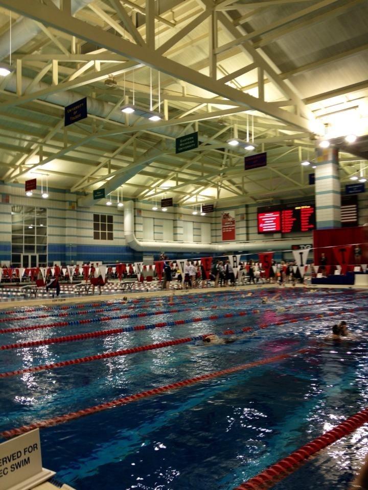 Pool at Miami University AMAZING
