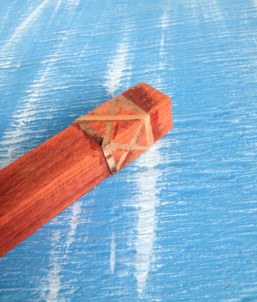 Making a Celtic knot segmented wood pen is easier than it looks! Learn how to make this segmented blank, even if you don't have access to power saws.