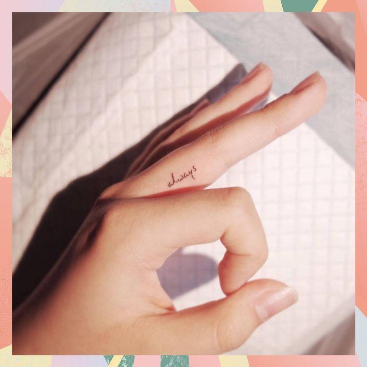 Diese zarten Finger Tattoo Designs sind perfekt für Anfänger – #Anfänger #Des…