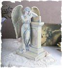 MISTICO ANGELO SCULTURA ANGELO CUSTODE VINTAGE ART NOUVEAU FIGURA