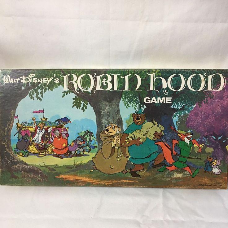1973 Parker Brothers Robin Hood Board Game Complete VTG Walt Disney Productions #ParkerBrothers