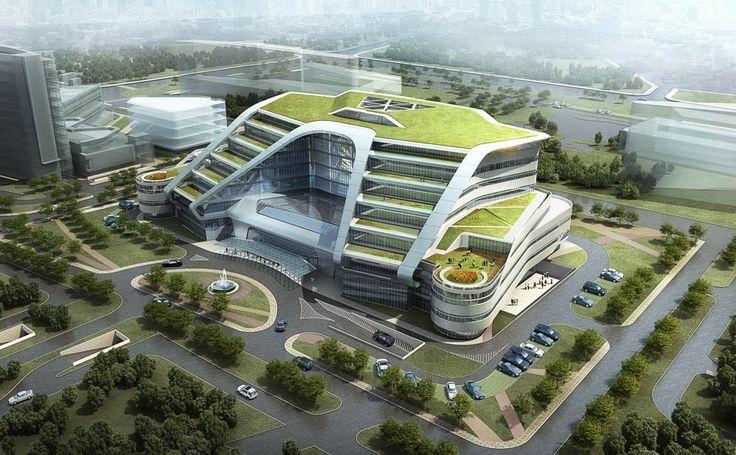 Architect: Shanghai New Hongqiao International Medical Center...