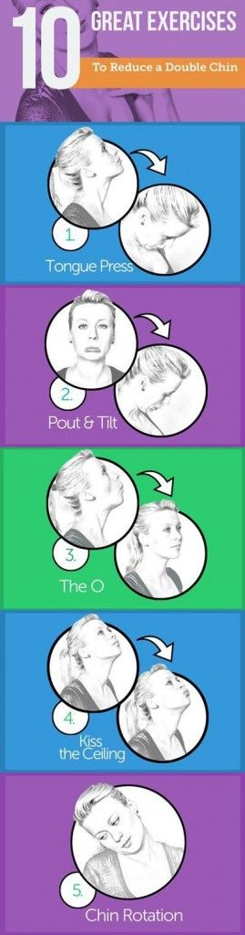 The 10 Best Exercises to Reduce a Double Chin :http://workout365.top/the-10-best-exercises-to-reduce-a-double-chin/