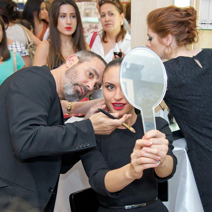MakeUp artist Vangelis Thodos