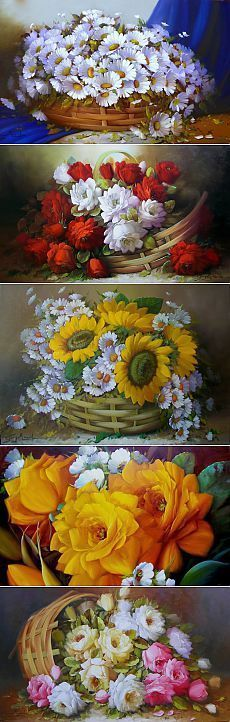 Мир цветов от Jorge Maciel: