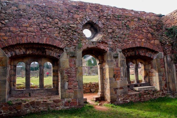 Klosterruine Heilig Kreuz bei Meißen – Carmen Stutzer – Alvarado