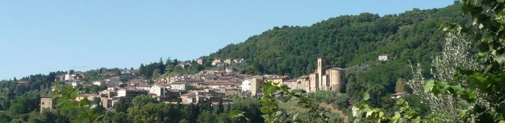 View of Chianni and the hills