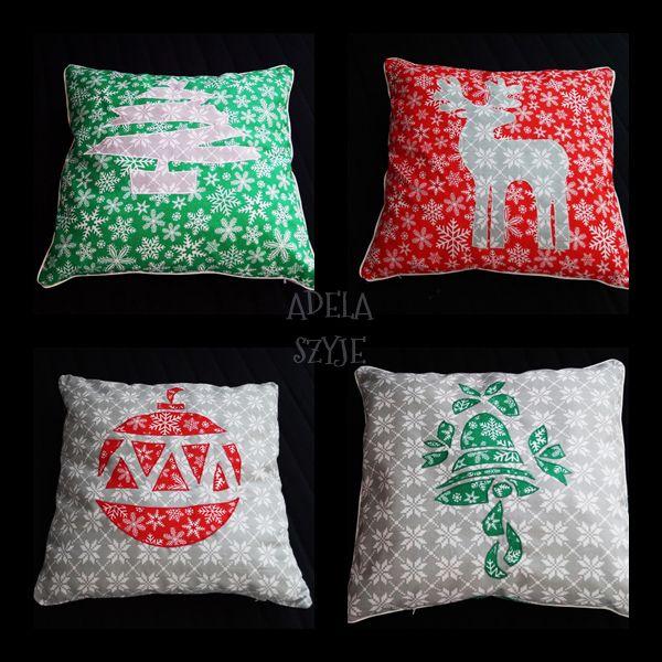 christmas pillows / poduszki świąteczne