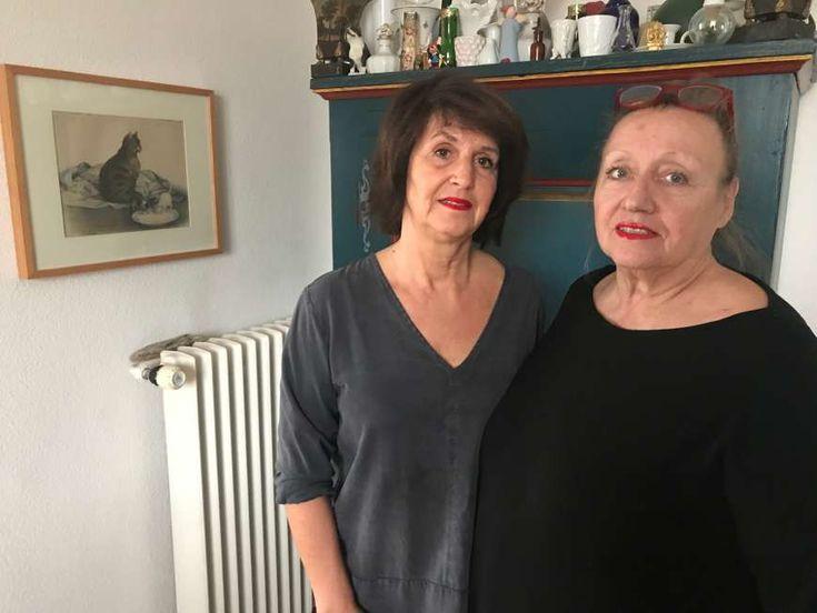 Die Wohnungskündigung trifft die Bewohner, unter ihnen Karin Kalman (58, l.) und Yvonne Seligmann (67), völlig unvorbereitet.