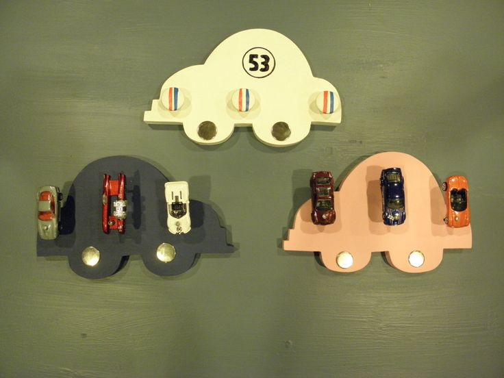 A personal favorite from my Etsy shop https://www.etsy.com/listing/455402848/volkswagen-beetle-wooden-hat-rack
