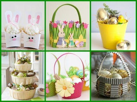 68 best diy easter basket ideas images on pinterest 65 fabulous diy easter basket ideas to enhance festive spirit negle Images