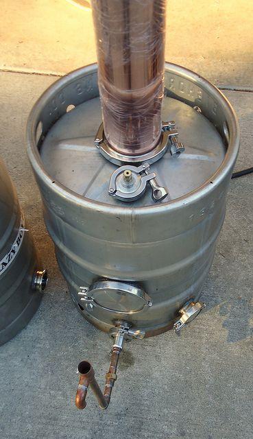 beer keg column still - Google Search