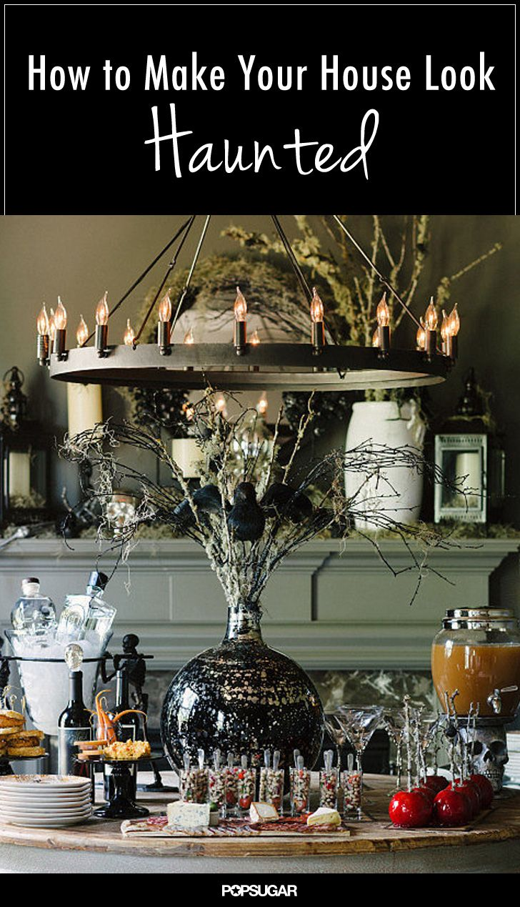 love the chandlier - 11 Ways to Make Your House Look Haunted