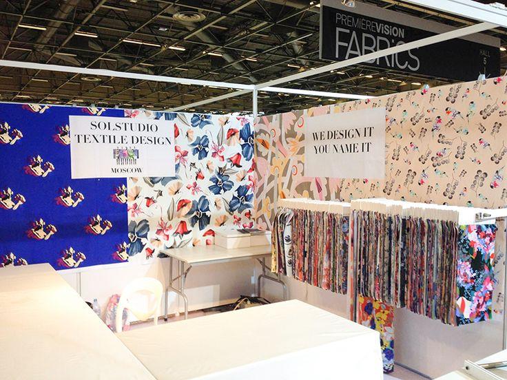 Solstudio Textile Design pattern. for Premiere Vision season a\w 201718