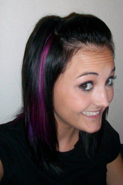 Hair Streaks Pics My Random Life One Year Ago Lol