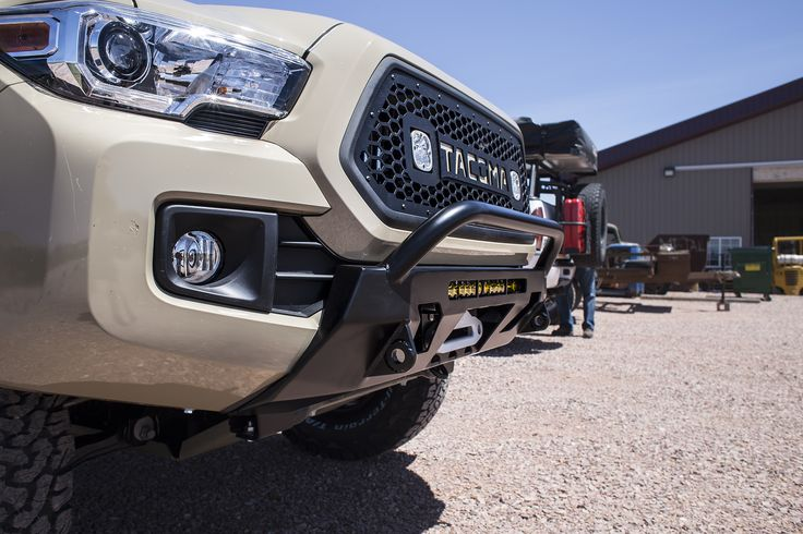 2016+ Tacoma (3rd Gen) Front Lo-Pro Winch Bumper | C4 Fabrication