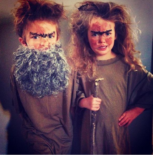 Mr and Mrs Twitt Costume Idea
