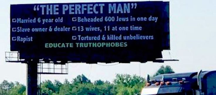 The group responsible for a controversial billboard on the east side of Indianapolis is pleased their message is prompting discussions about Islam and the causes of terrorism, according to the businessman who owns the sign.