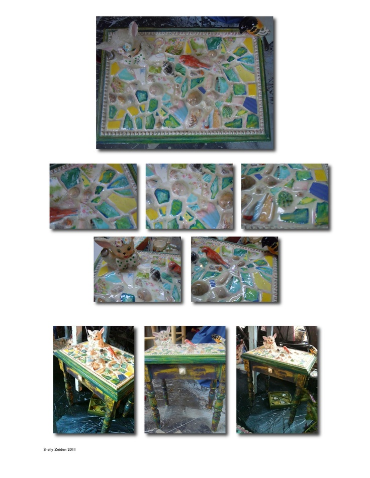 Shelly Zeiden - Mosaics, Small table