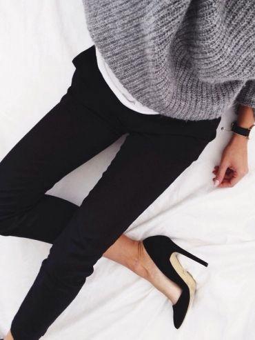 Pinterest : 25 façons de porter le jean noir | Glamour