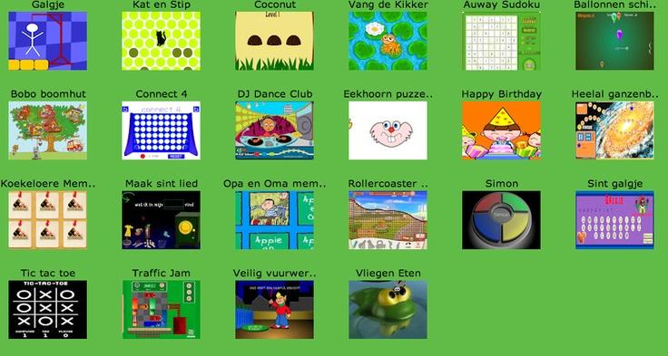 De leukste Digibord spelletjes speel je op Minipret!