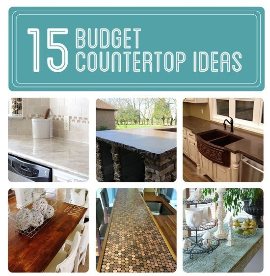 Best Countertop Material On A Budget : countertops budget meals pinterest diy building ideas asap cool ideas ...