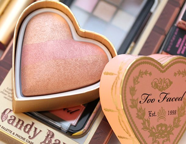 """Too Faced Sweethearts Perfect Flush Blush in """"Peach Beach."""" Easily my favorite."""