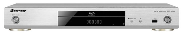 Pioneer BDP-X300 | Blu-ray-Player, Farbe: silber