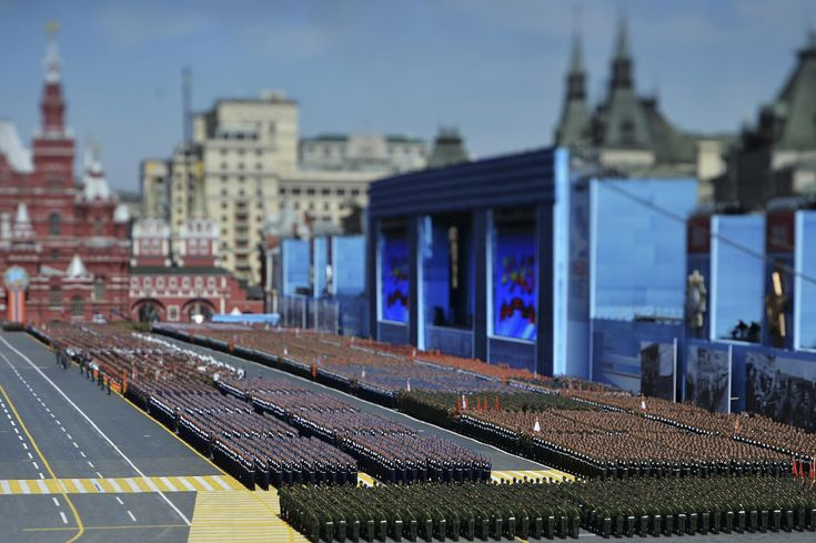 2015 Victory Parade on May 9, Moscow, Red Square. (Photo by Maxim Shemetov - Reuters)