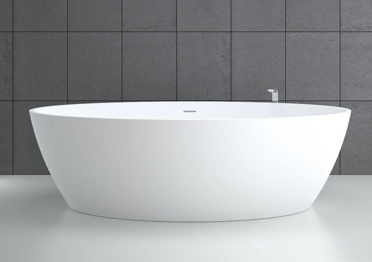 Oval bathtub - SPACE 180x85 - HIDROBOX - ABSARA