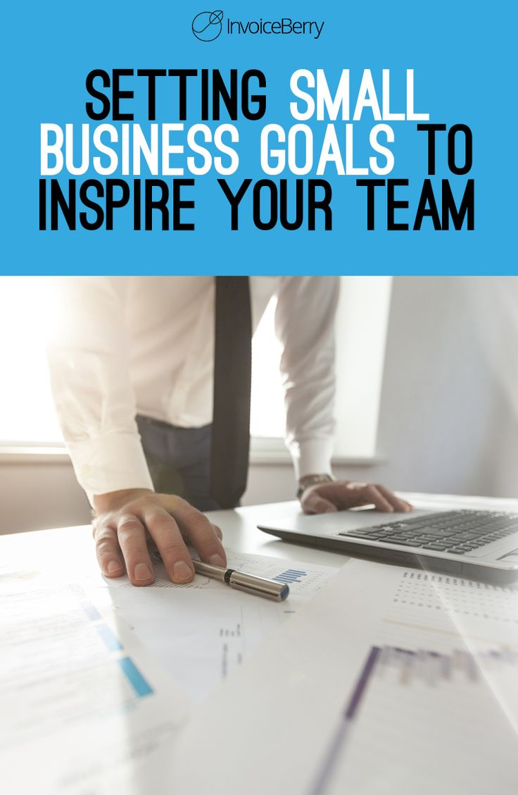 how to set your business goals