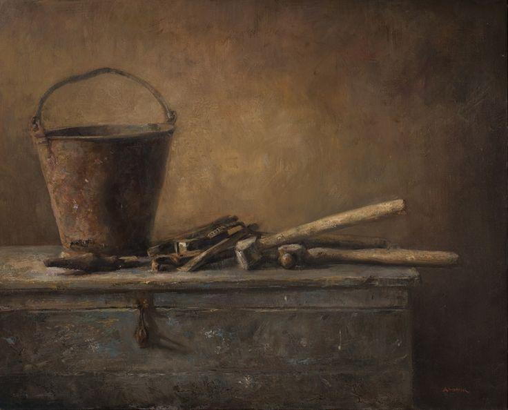 Craftmans Choice, Oil on canvas by Jonny Andvik