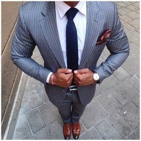 Cómo combinar un traje gris en 2016 (229 formas) | Moda para Hombres