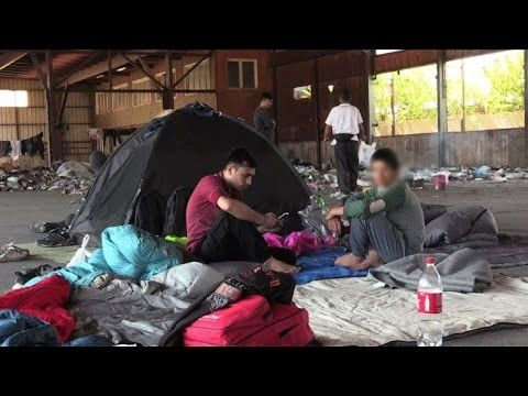 The child migrants living rough trying to get to northern Europe