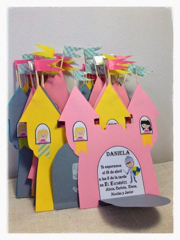 RECURSOS DE EDUCACION INFANTIL: TARJETAS PROYECTO CASTILLOS