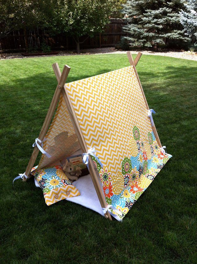 Easy child's play tent