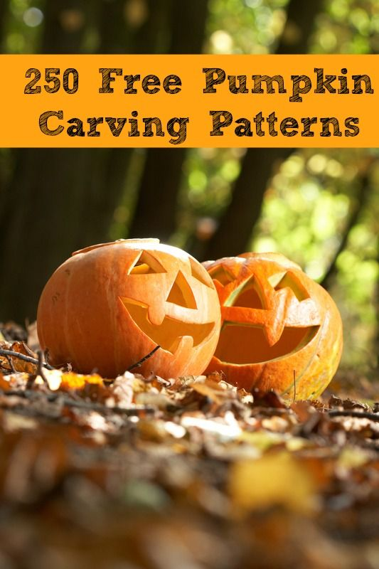 ...Free Pumpkin Carving Patterns  {Over 250 Patterns}...
