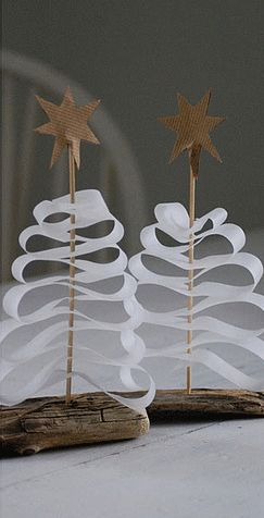driftwood, stick, ribbon, cardboard star: easiest diy winter craft project ever                                                                                                                                                      Plus                                                                                                                                                     Plus