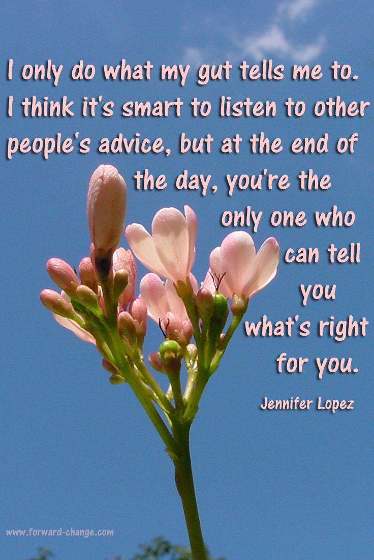 Listening to your #gut. #intuition repinned by http://my-daily-quote.com