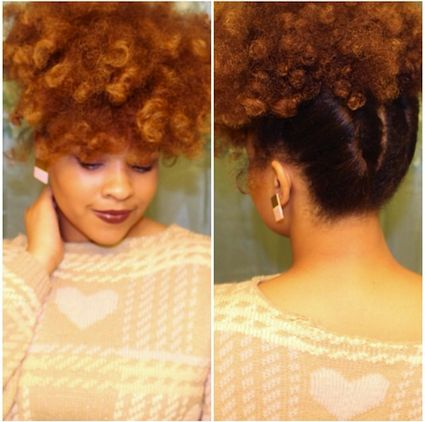 Click the image for Annisa's natural hair photos and regimen.