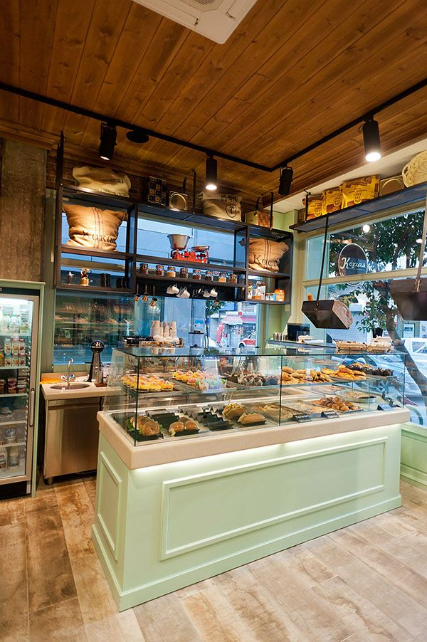 25 best ideas about bakery shop interior on pinterest for Bakery story decoration ideas