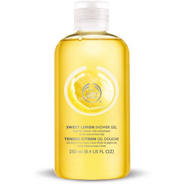 The Body Shop Sweet Lemon Shower Gel 163 5 40 Liked On