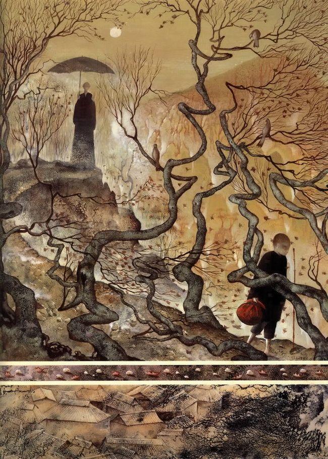 çizgili masallar: Frédéric Clément, The Boy Who Drew Cats
