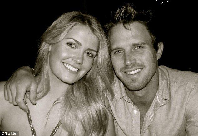 A match made in society heaven: Lady Kitty Spencer,22 goes public with England cricket star Nick Compton
